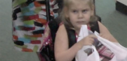 Katy's First Day of Kindergarten